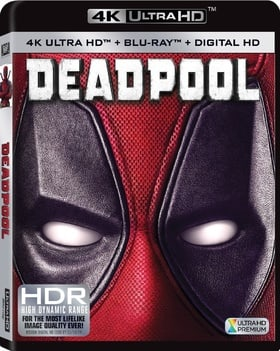 Deadpool (4K Ultra HD + Blu-ray + Digital HD)