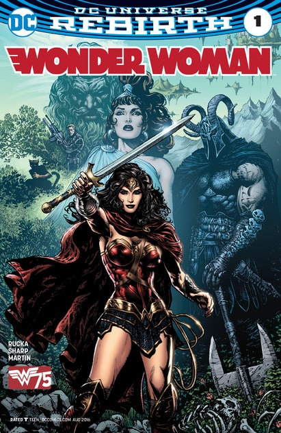 Wonder Woman : Rebirth (2016-ong 5th Series) 	#1-ongoin