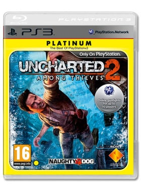 Uncharted 2 Platinum edition