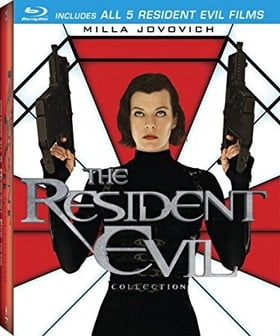 The Resident Evil Collection (Resident Evil / Apocalypse / Extinction / Afterlife / Retribution )