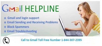 Gmail Customer Support Number 1-844-307-2395