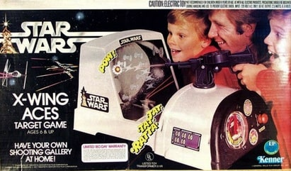 Star Wars X-Wing Aces Target Game (1978)