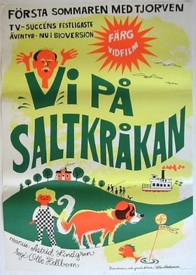 Holiday on Saltkråkan
