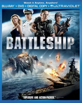 Battleship (Blu-ray + DVD + UltraViolet Digital Copy)