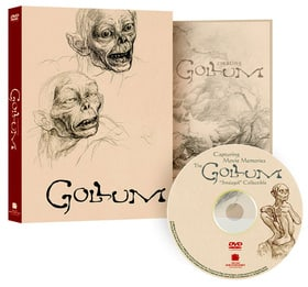 The Gollum smeagol Collectible (with Creating Gollum Booklet)