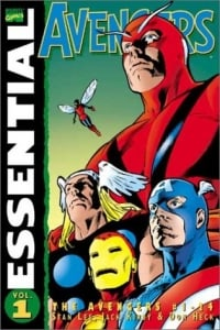 Essential Avengers Volume 1 TPB: v. 1 (Essential (Marvel Comics))