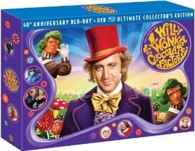 Willy Wonka & the Chocolate Factory (Three-Disc 40th Anniversary Collector's Edition Blu-ray/DVD Com