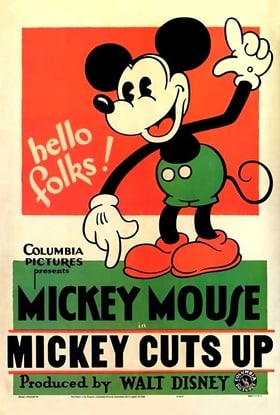 Mickey Cuts Up