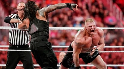 Brock Lesnar vs. Roman Reigns (WWE, Wrestlemania 31)