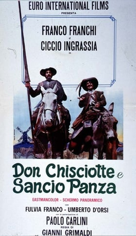 Don Chisciotte and Sancio Panza