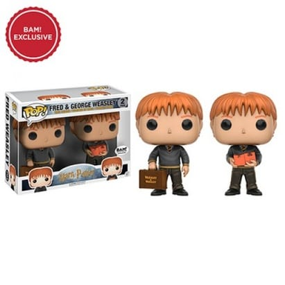Harry Potter Pop! Fred & George Weasley 2-Pack (Books-A-Million Exclusive)