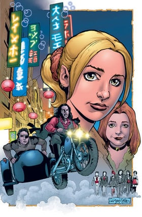 Buffy the Vampire Slayer Season 8 #13 Georges Jeanty Variant Cover Edition