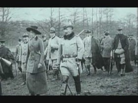 Kaiser Wilhelm Reviewing His Troops