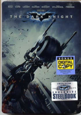 The Dark Knight (Two-Disc Special Edition in Exclusive Steelbook Packaging)