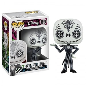 The Nightmare Before Christmas Pop!: Jack Skellington (Day of the Dead)