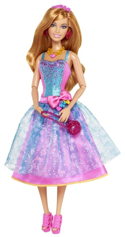 Barbie Fashionistas in The Spotlight Gown Doll, Blue