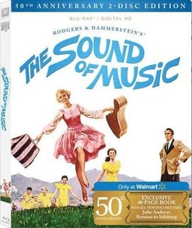 The Sound Of Music (50th Anniversary Edition) (Walmart Exclusive)
