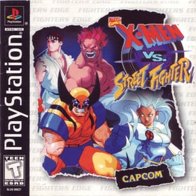 X Men Vs Street Fighter